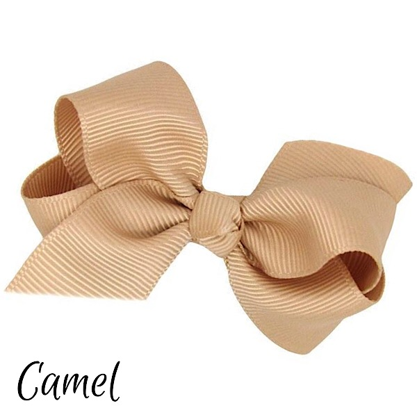 Small Boutique Hair Bows, Various Colours