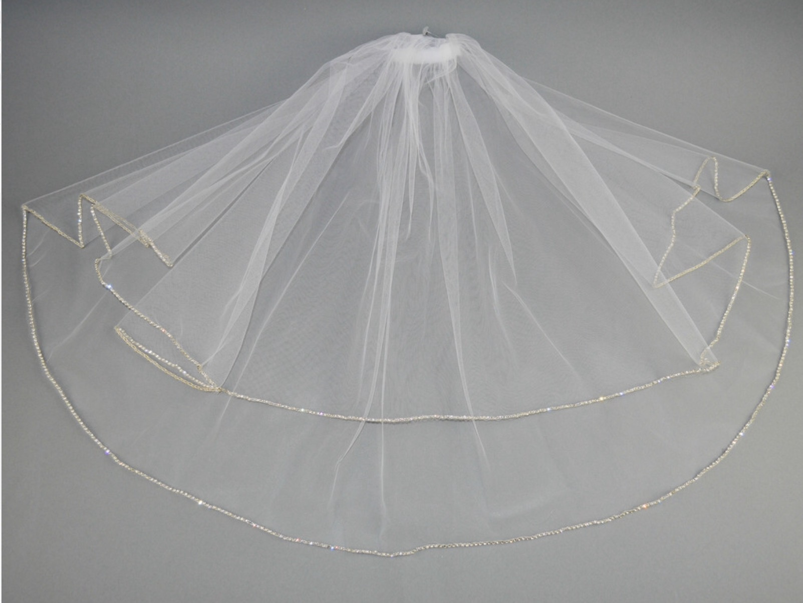Diamonte Holy Communion Veil