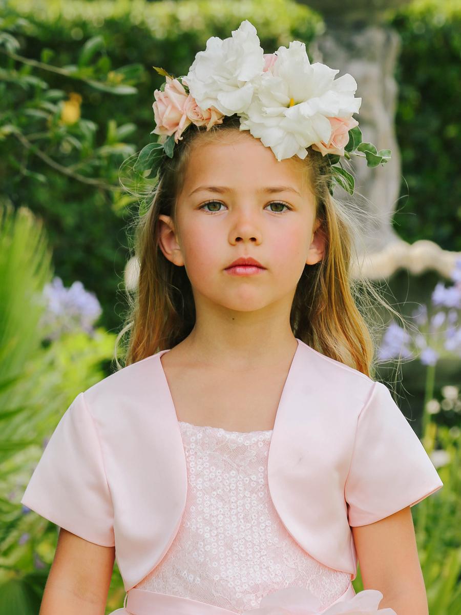 Blush Pink Sequin Bodice Dress