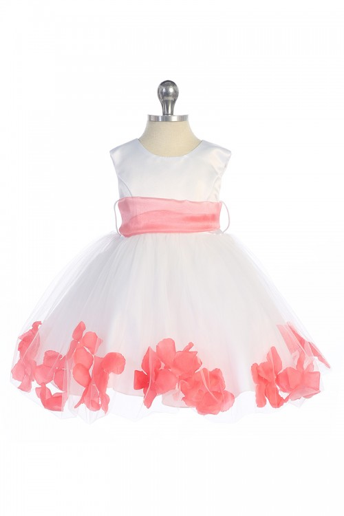 Single layer petal dress, various colours