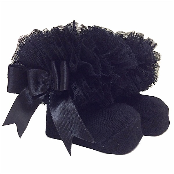 Couche Tot Tutu Ankle Socks, Black