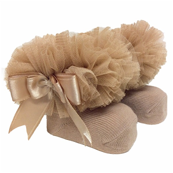 Couche Tot Tutu Ankle Socks, Camel