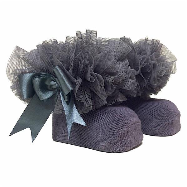 Couche Tot Tutu Ankle Socks, Grey