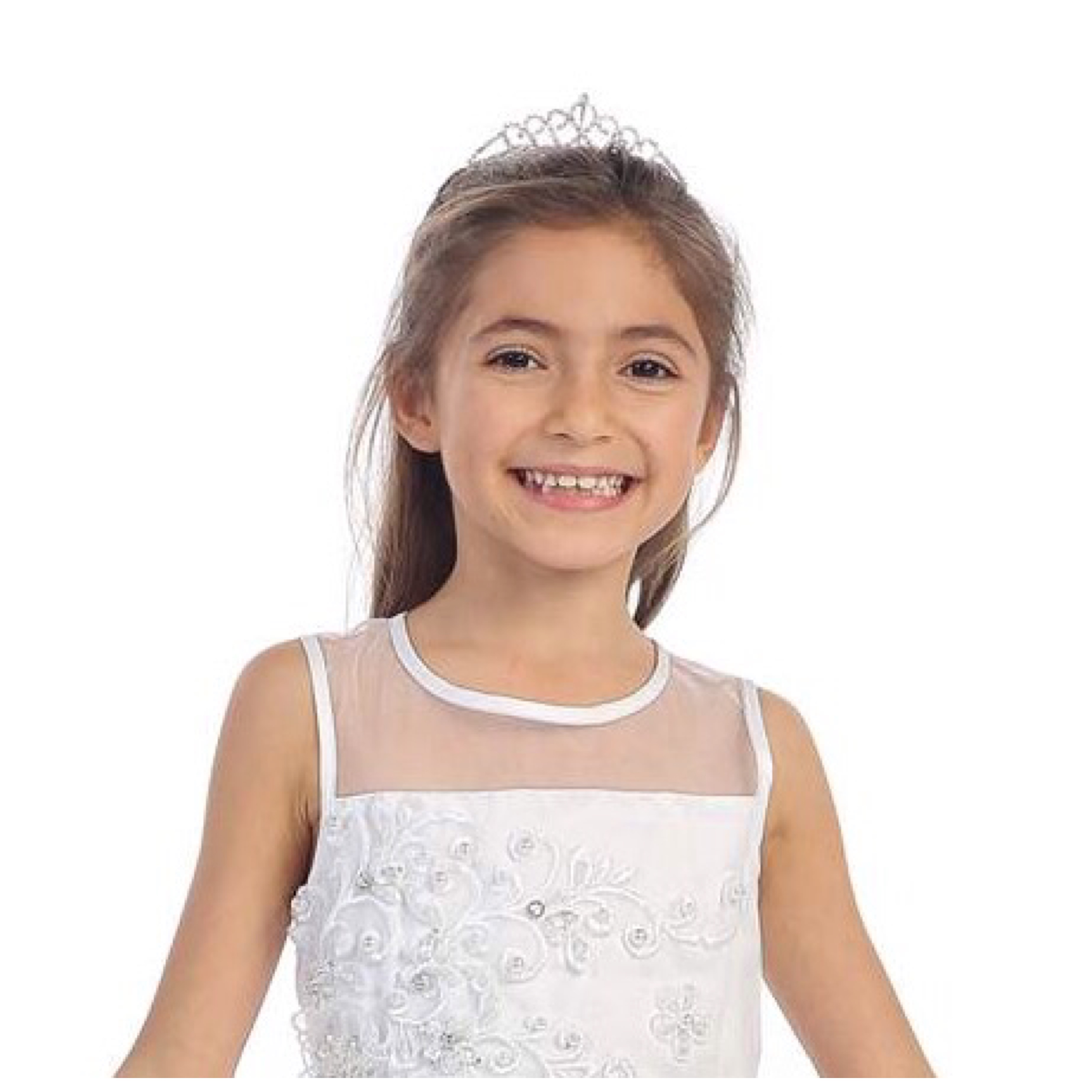 Communion/ Flower Girl Comb Tiara