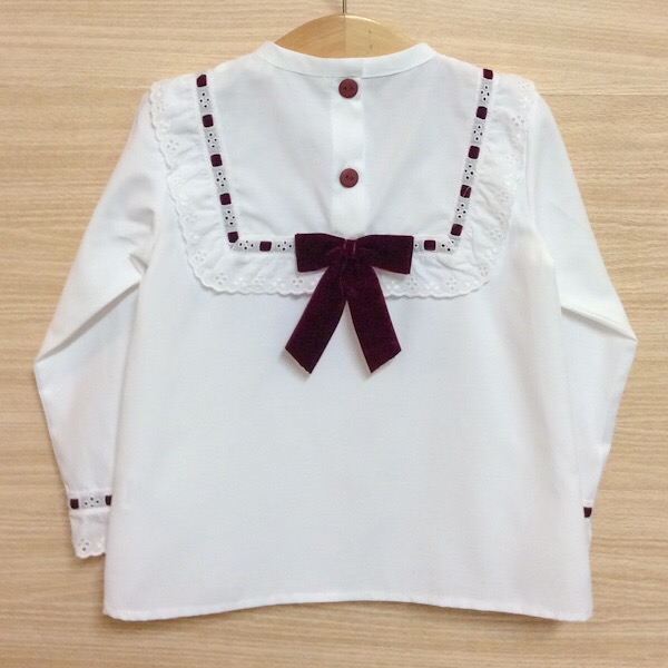 Just Lovely Bow Back Blouse
