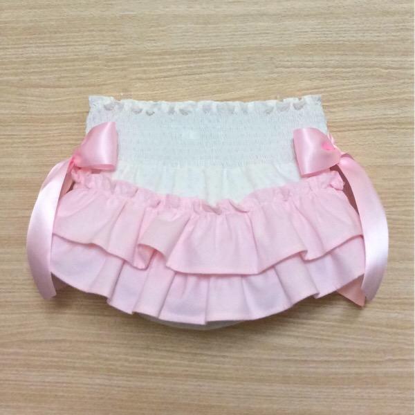 Isabella Ivory & Pink Jam Pants