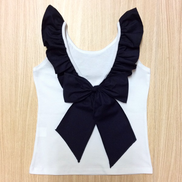 Phi Clothing Navy Polka Dot Bloomer Set