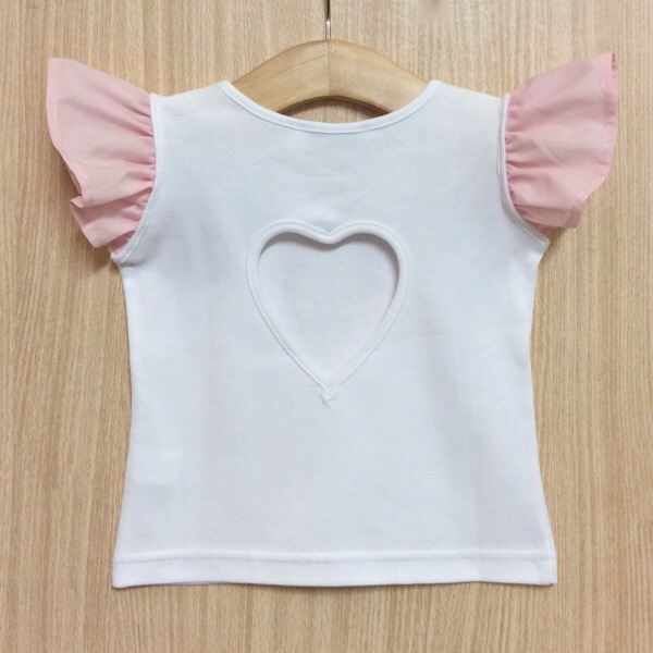 Phi Clothing Heart Back Top & Bloomer Set