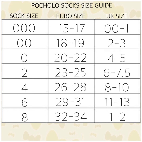 Pocholo Crochet Lace Bow Socks, Cream