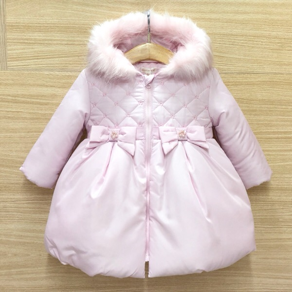 Mintini Pink Bow Coat