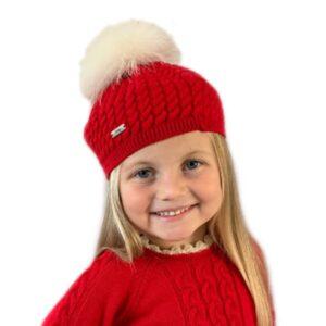 Rahigo pom pom hat