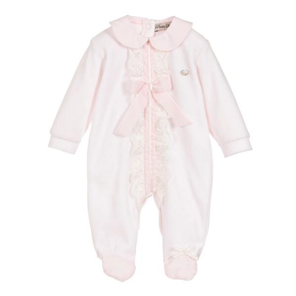 Piccola Speranza Pink Babygrow