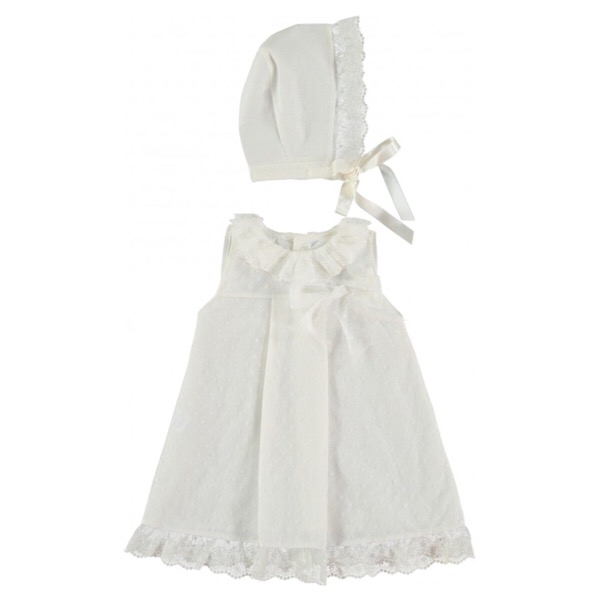 Juliana Cream Tulle Dress Set