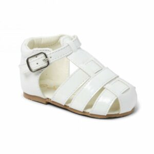 white boys sandals