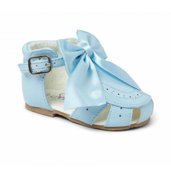 Sevva Bow Sandals, Blue