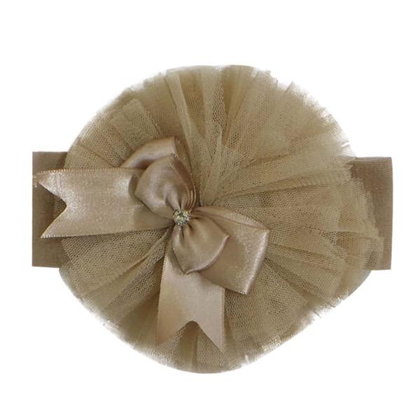 Couche Tot Tutu Headband, Camel