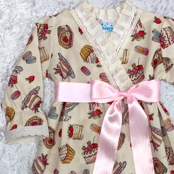 Salero Broderie Cakes Nightcoat