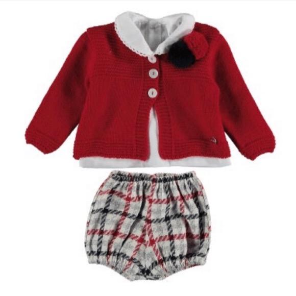 Juliana Preorder Red Short Set