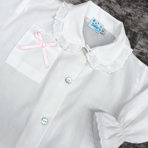 Salero White & Pink Bow Pj's