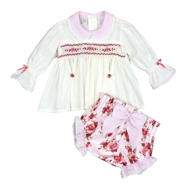Pretty Originals Floral Jam Pants Set