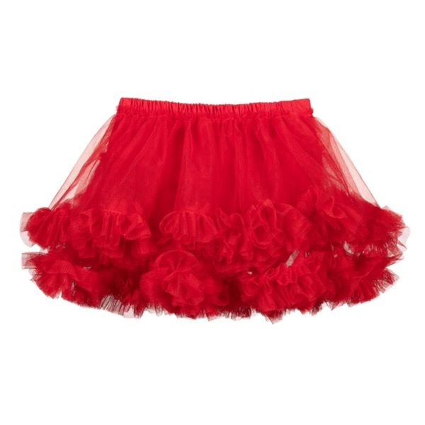 Caramelo kids Tutu Skirt, Red