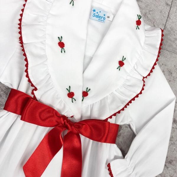 Salero Red Rose Nightcoat