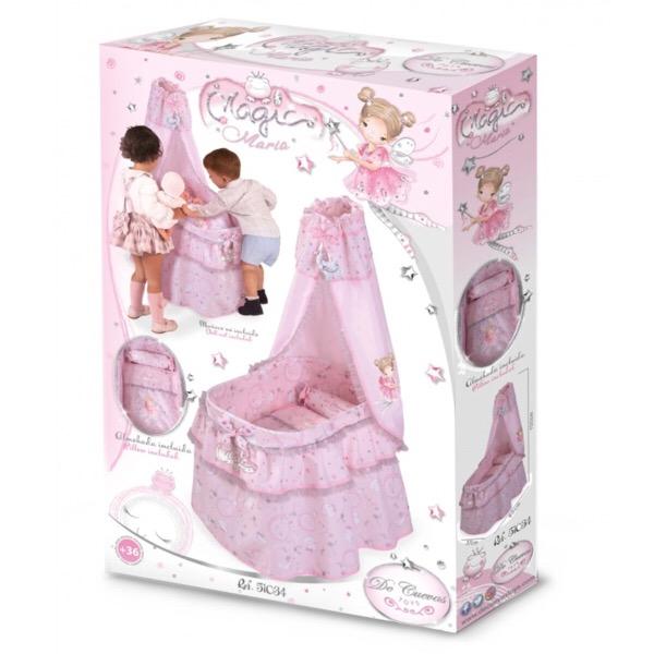 Maria Pink & Silver Crib