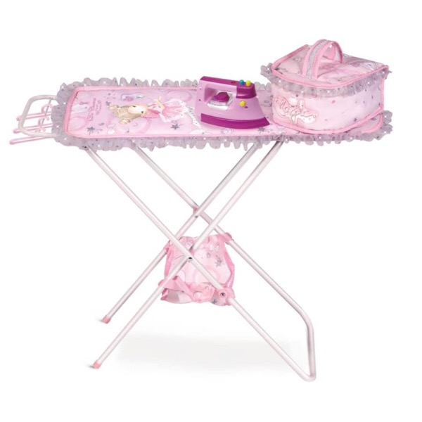 Maria Pink & Silver Ironing Board Set