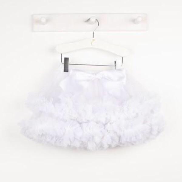 Caramelo Tutu Skirt, White