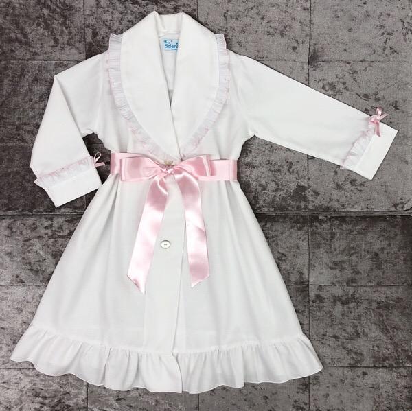 Salero Pink Pleat Nightcoat