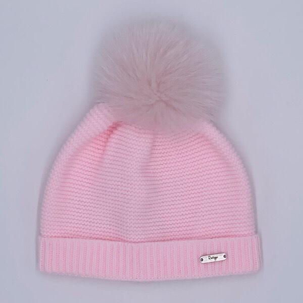 Rahigo Pink Pom Pom Hat