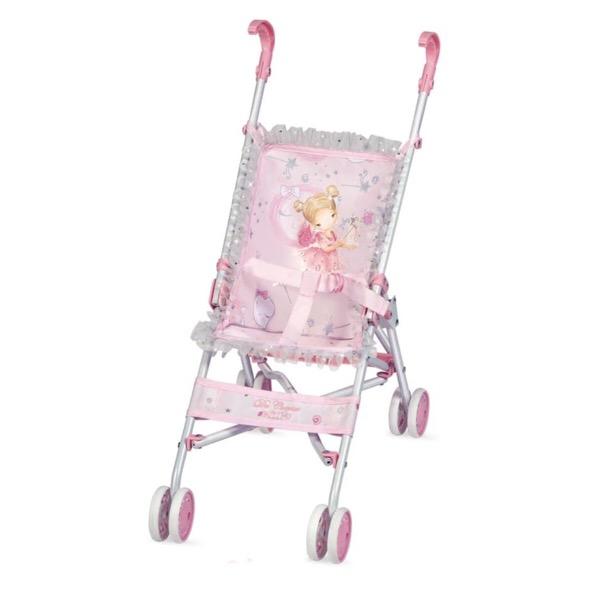 Maria Pink & Silver Stroller