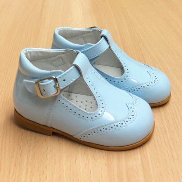 CocoBoxi T-Bar Shoes, Blue