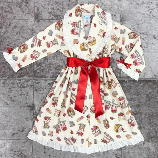 Salero Red Cakes Nightcoat