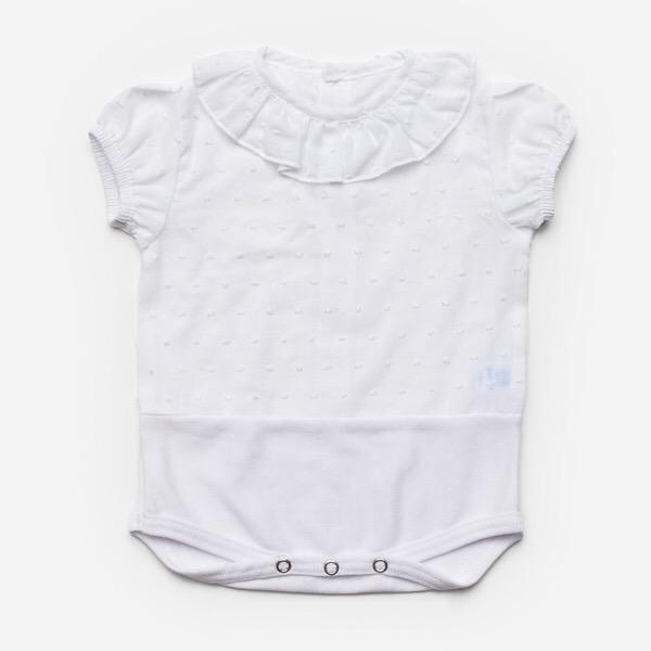 Juliana Frill Collar Body Blouse
