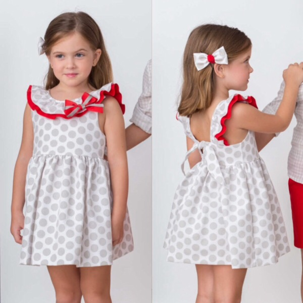 Cuka Polka Dot Girls Dress