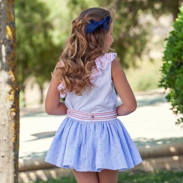 Abuela Tata Nautical Skirt Set