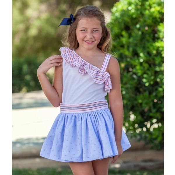 Abuela Tata Preorder Nautical Skirt Set