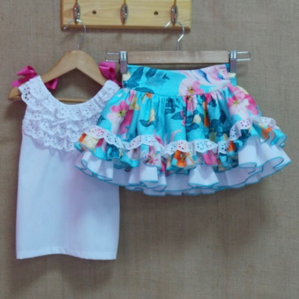 Nini Floral Skirt Set