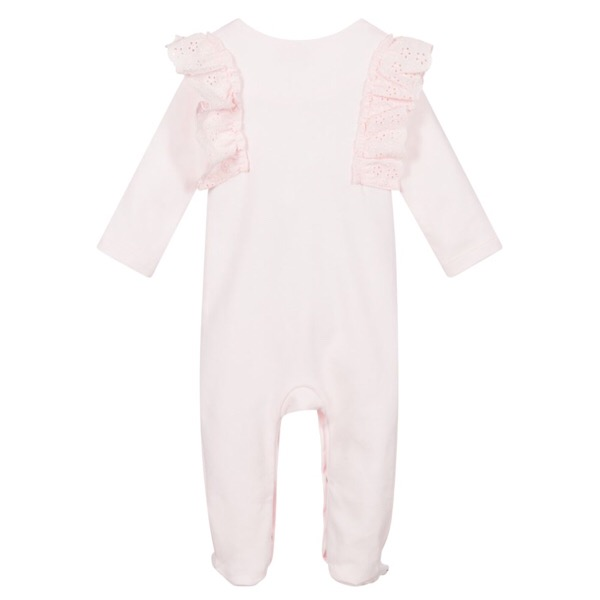 Caramelo Crystal Babygrow, Pink