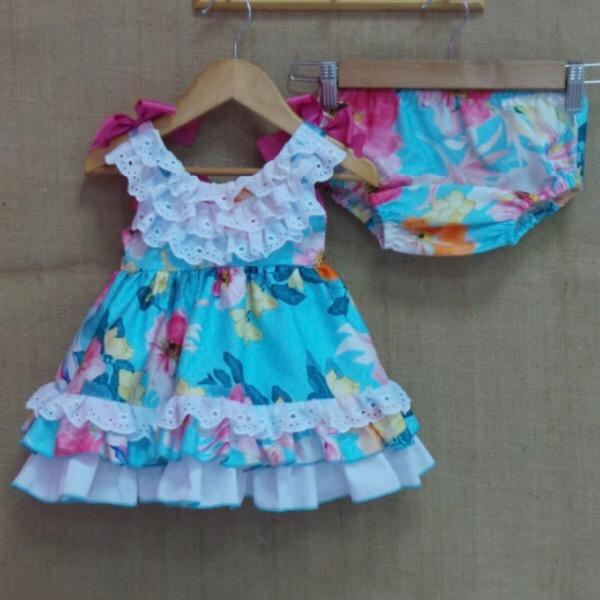 Nini Floral Dress Set