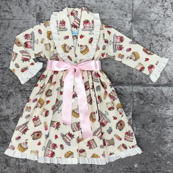 Salero Pink Cakes Nightcoat