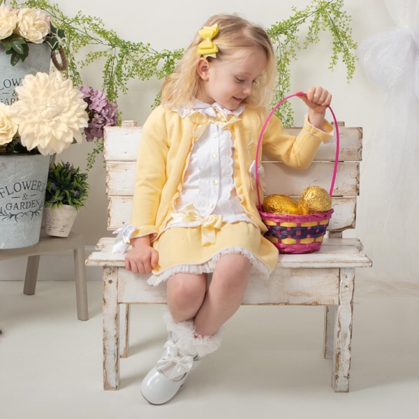 Caramelo 3 Piece Knitted Set, Lemon
