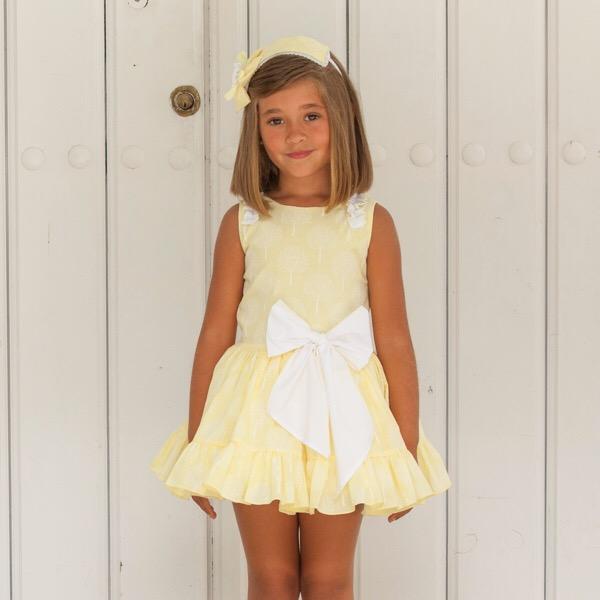 Dbb Lemon Dropwaist Dress