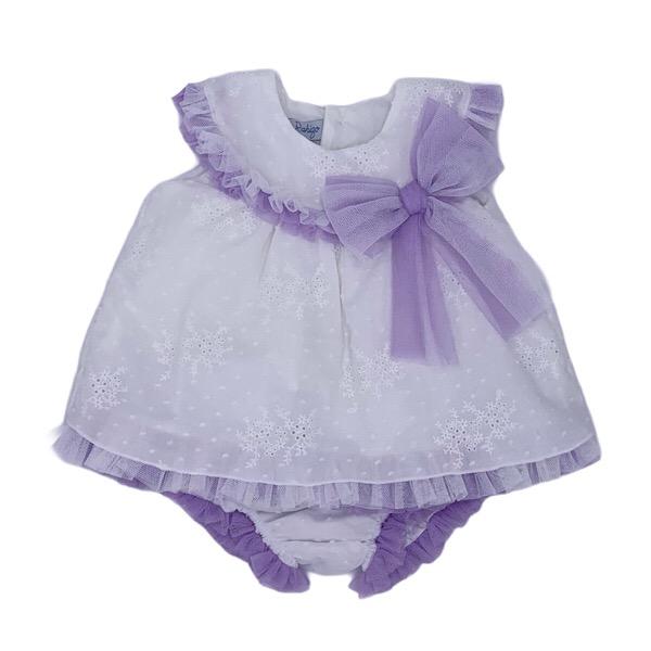 Rahigo Tulle Dress Set, Lilac
