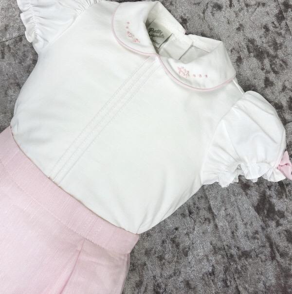 Pretty Originals Pink Skirt Set