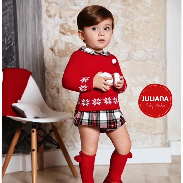 Juliana Red Tartan Stars Set
