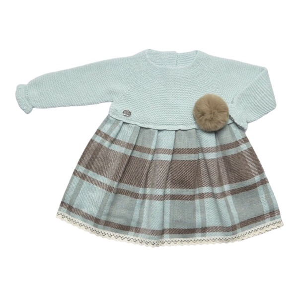 Juliana Mint Check Dress