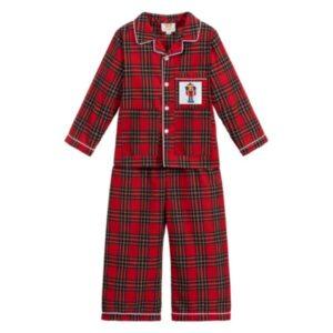 boys tartan pyjamas