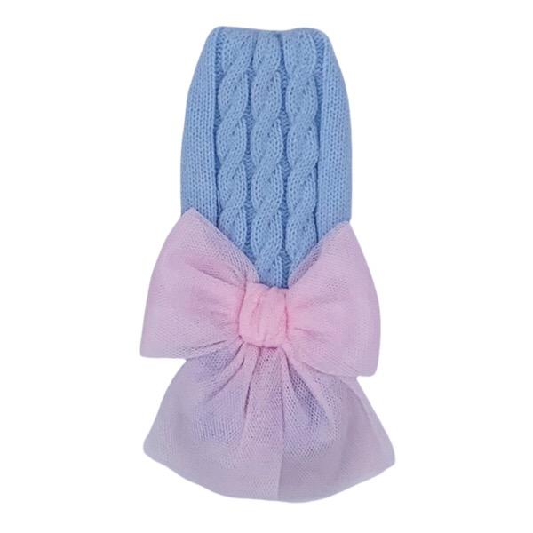 Rahigo Blue & Pink Tulle Headband